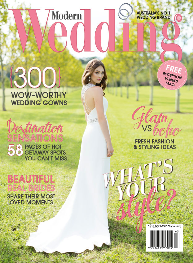 Mdoern Wedding Cover Rhiane Schroder
