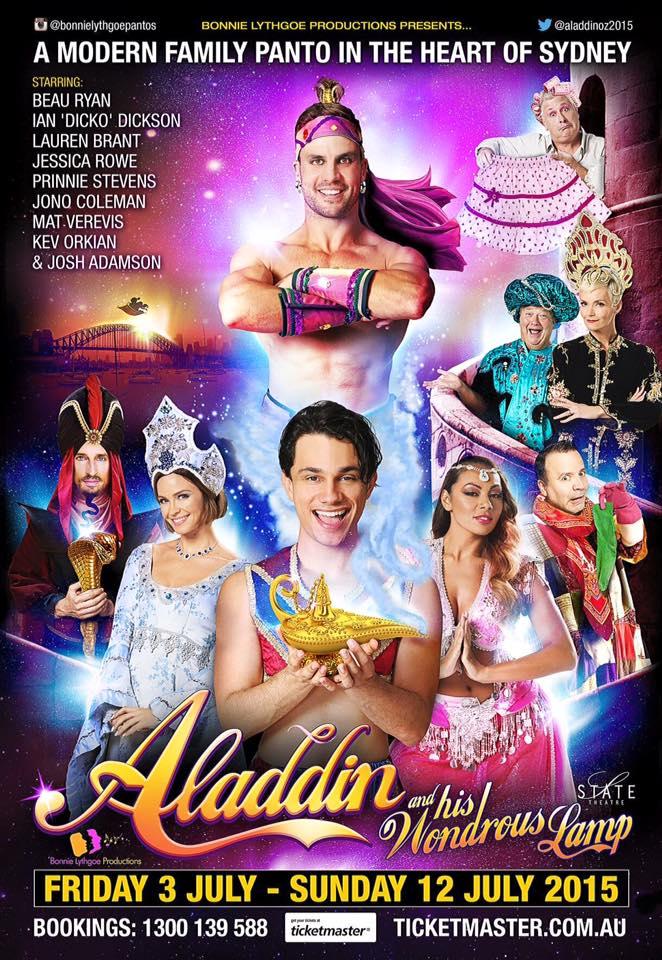 Rhiane Schroder Hair Aladdin Panto Sydney Beau Ryan